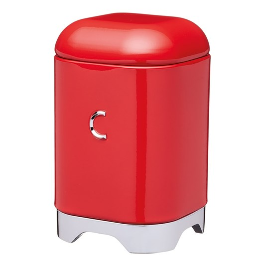 Kitchen Craft Lovello Coffee Canister 11x18cm 1.5L Red
