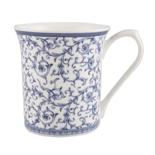 Queens Royale Blue Story Arabesque Mug 220ml