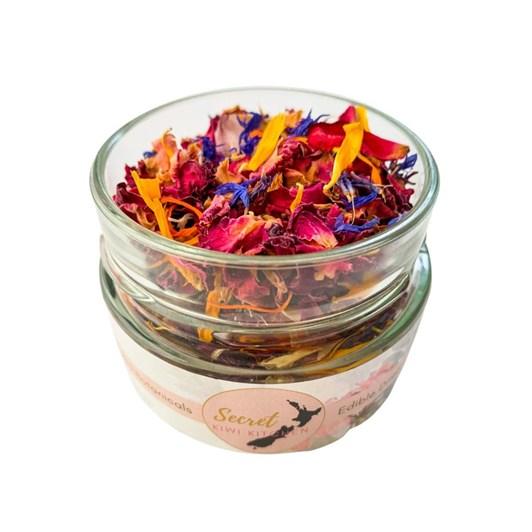 Secret Kiwi Kitchen Edible Flowers Jar 200ml