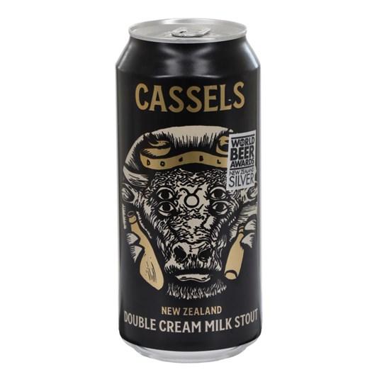Cassels New Zealand Double Cream Milk Stout 8.1%  440ml