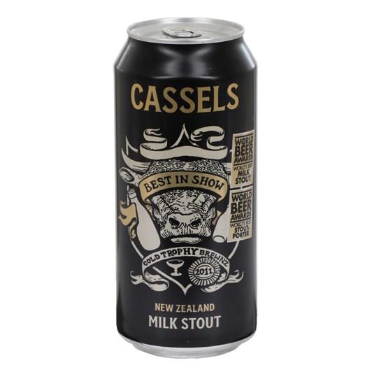 Cassels New Zealand Milk Stout 5.2%  440ml