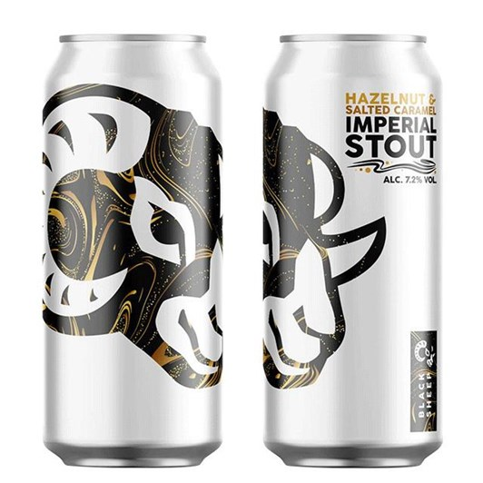 Black Sheep Hazelnut & Salted Caramel Imperial Stout Can 7.2% 440ml