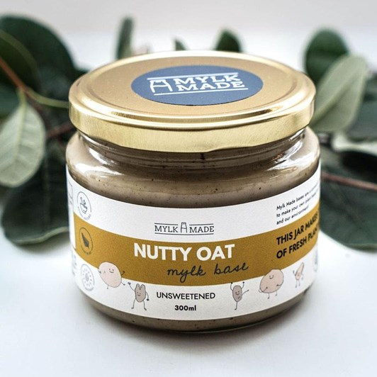 Mylk Made Nutty Oat Mylk Base 300ml