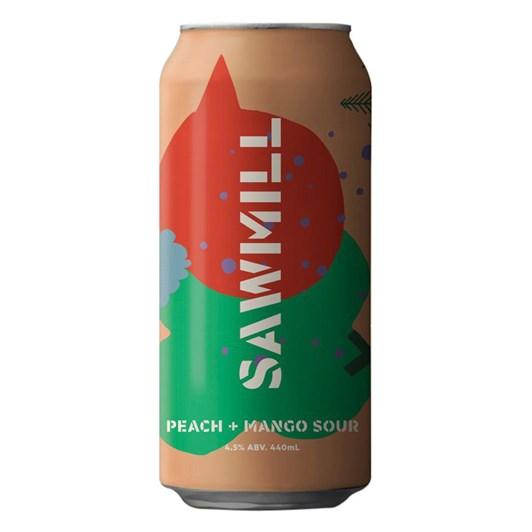 Sawmill Brewery Peach & Mango Sour 4.5% 440ml