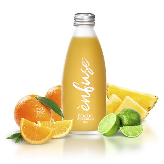 Enfuse Focus Supplemented Juice Orange Pineapple & Lime With Manuka Honey