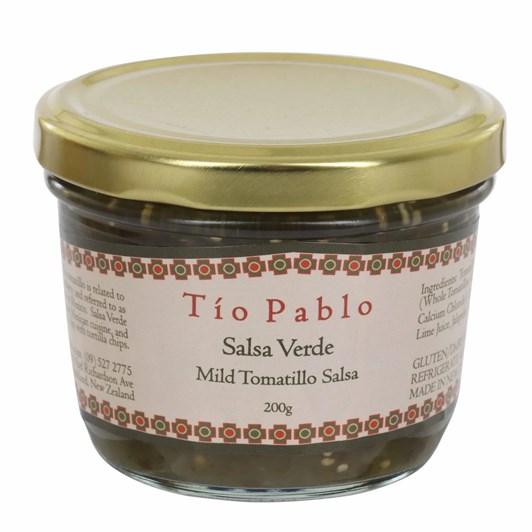 Tio Pablo Salsa Verde Mild Tomatillo Salsa 200g