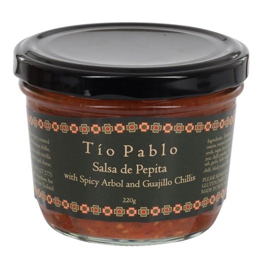 Tio Pablo Salsa De Pepita 220g