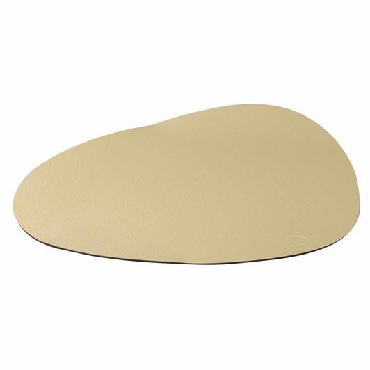 Lind Dna Table Mat Curve L 39X44X38Cm, Hippo Gold
