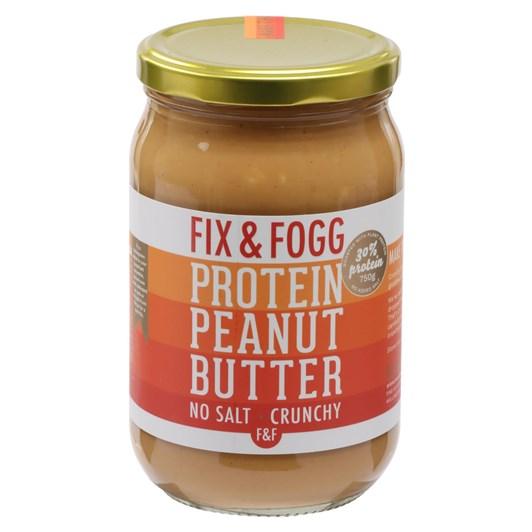 Fix and Fogg Protein Peanut Butter - No Salt 750g