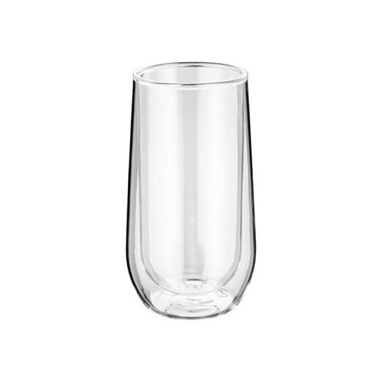 Di Antonio Double Wall Hi-Ball Glass Tumbler Pair  330ml