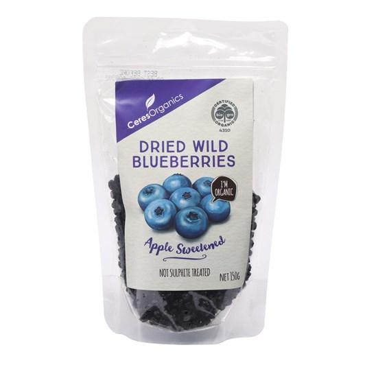 Ceres Organics Dried Wild Blueberries 150g