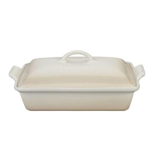 Le Creuset Heritage Covered Rectangular Dish 33cm Meringue