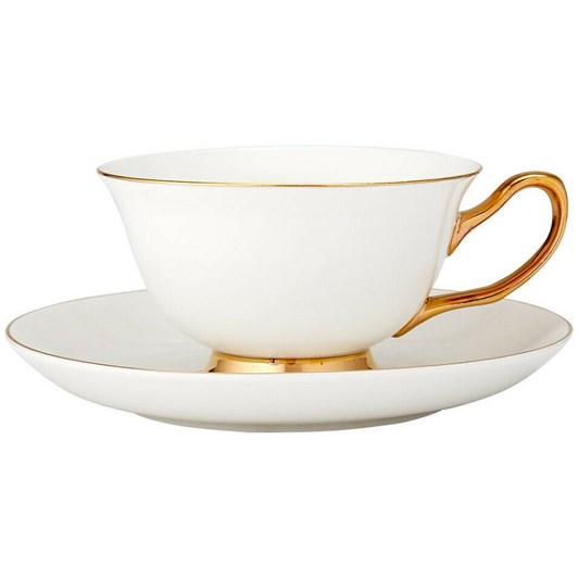 Ashdene Parisienne White Cup & Saucer