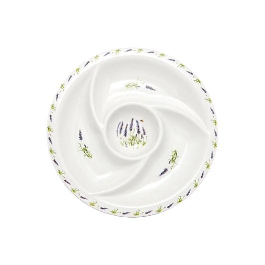 Ashdene Lavender Fields Round Sectioned Platter