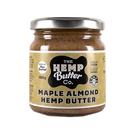 The Hemp Butter Co. Maple Almond Hemp Butter 195g