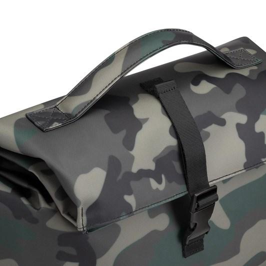 Corkcicle Nona Roll-Top Cooler Bag Woodland Camo