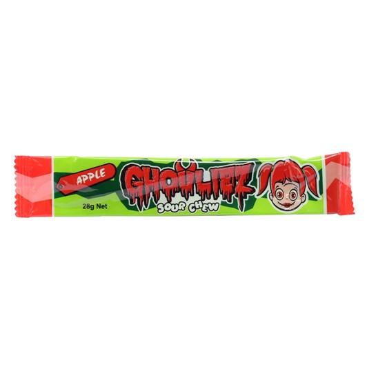 Ghouliez  Chews Sour Apple -28g