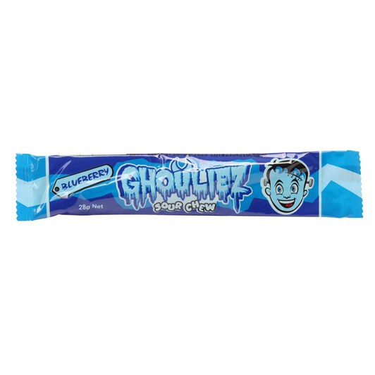 Ghouliez  Chews Sour Blueberry - 28g
