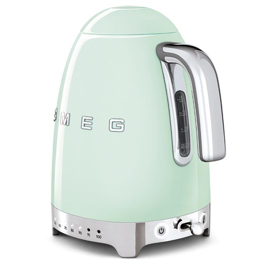 Smeg Electric Variable Temp Kettle - Pastel Green