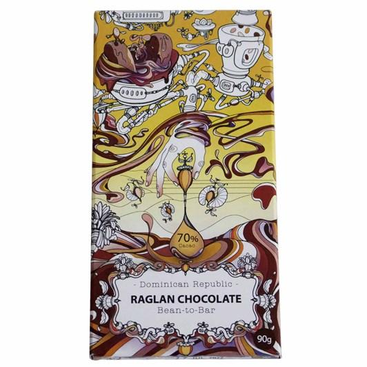 Raglan Chocolate Dominican Republic 70% Chocolate Bar 90G