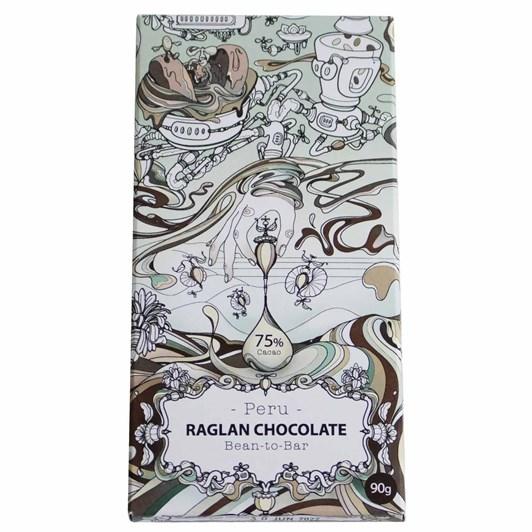 Raglan Chocolate Peru 75% Chocolate Bar 90G