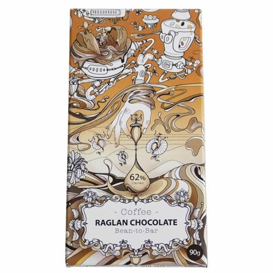 Raglan Chocolate Coffee Dark Chocolate Chocolate Bar 90G