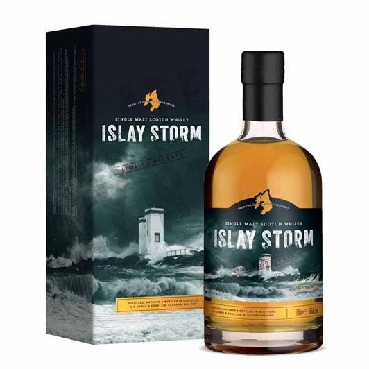 Islay Storm Single Malt Whisky Gift Boxed 40% 700ml