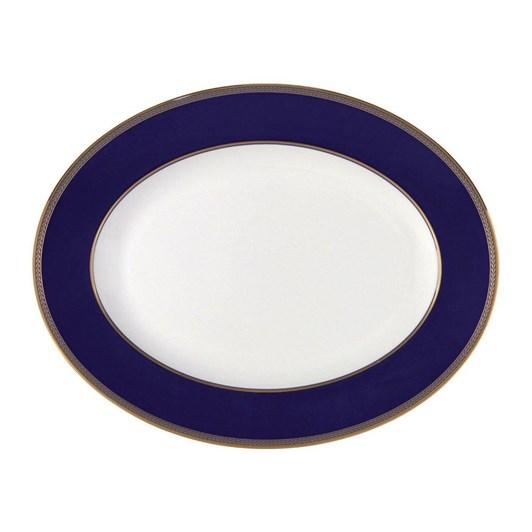 Wedgwood Renaissance Gold Oval Dish 39cm
