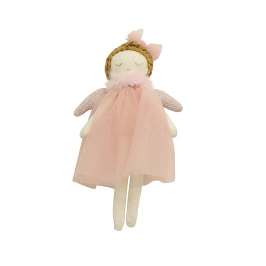 French Country Ella Hanging Angel Pink Small