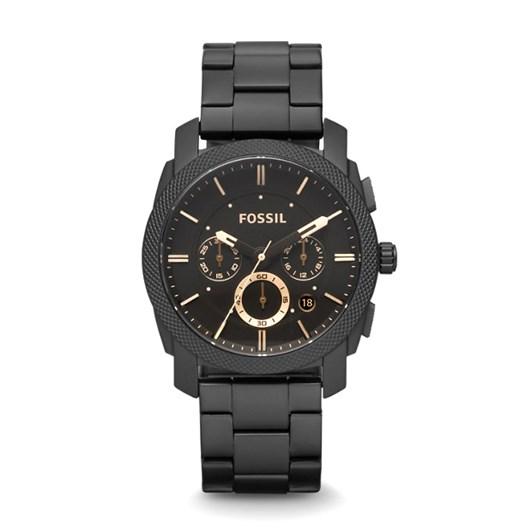 Fossil Machine Black Chronograph Watch FS4682