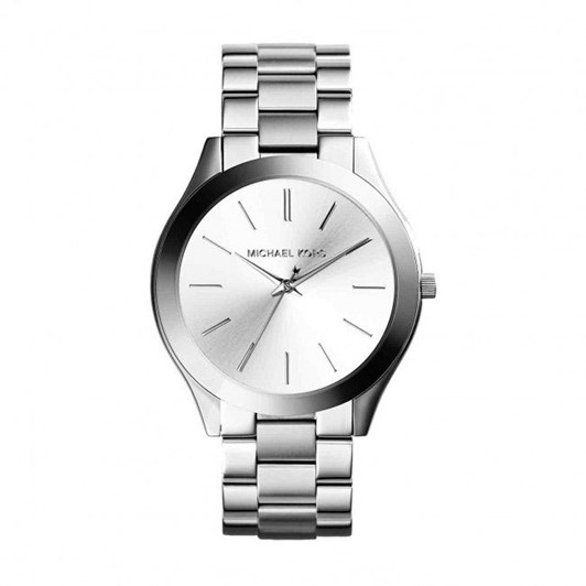 Michael Kors Slim Runway Silver-Tone Analogue Watch MK3178
