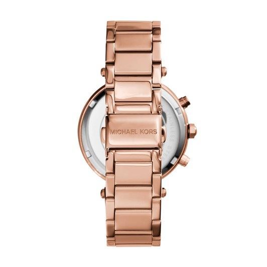 Michael Kors Parker Rose Gold-Tone Chronograph Watch MK5491