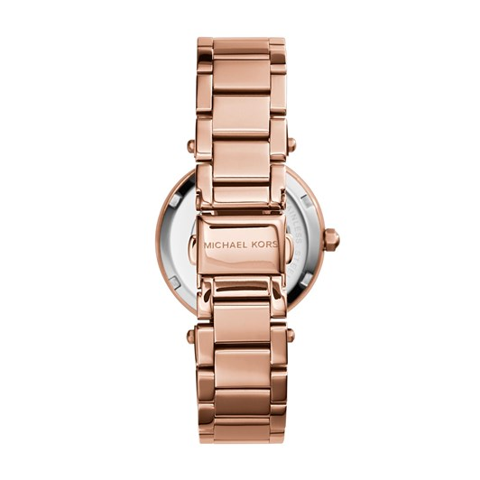 Michael Kors Mini Parker Rose Gold-Tone Analogue Watch MK5616