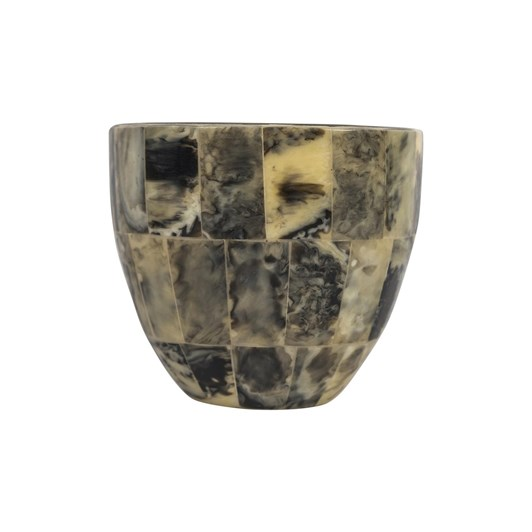 French Country Marbled Votive Holder