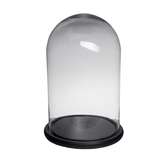 French Country Dome Black Base Tall Wide