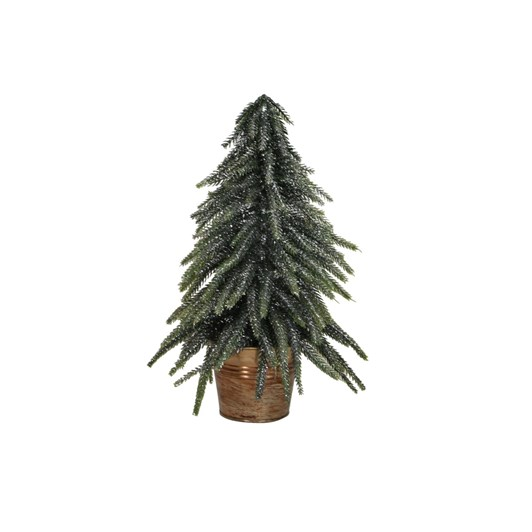 French Country Potted Table Tree Silver Small