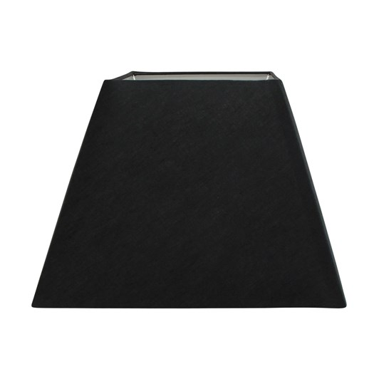 French Country Square Large Shade Black