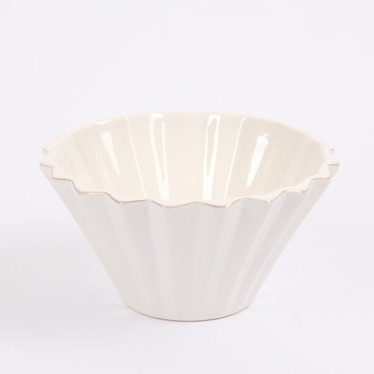 Vienna Panelled Dipping Bowl