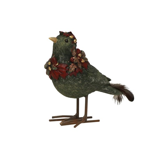 French Country Green Robin Adorned