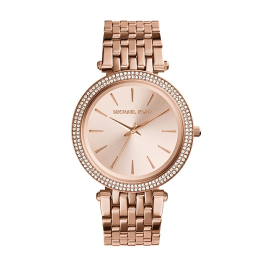 Michael Kors Darci Rose Gold-Tone Analogue Watch MK3192