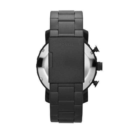 Fossil Nate Black Chronograph Watch JR1401