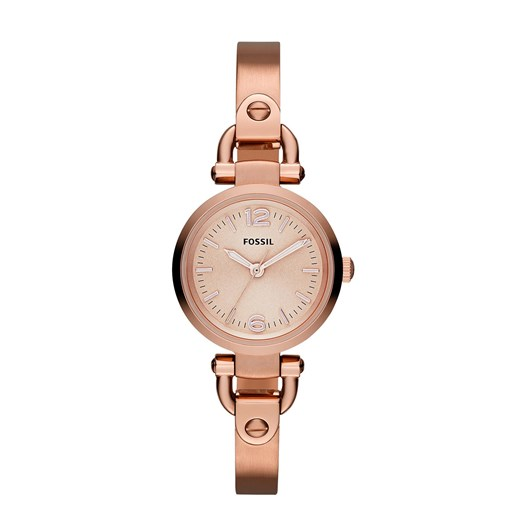 Fossil Georgia Rose Gold-Tone Analogue Watch ES3268