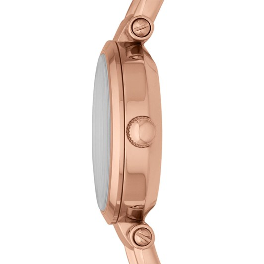 Fossil Georgia Rose Gold-Tone Analogue Watch