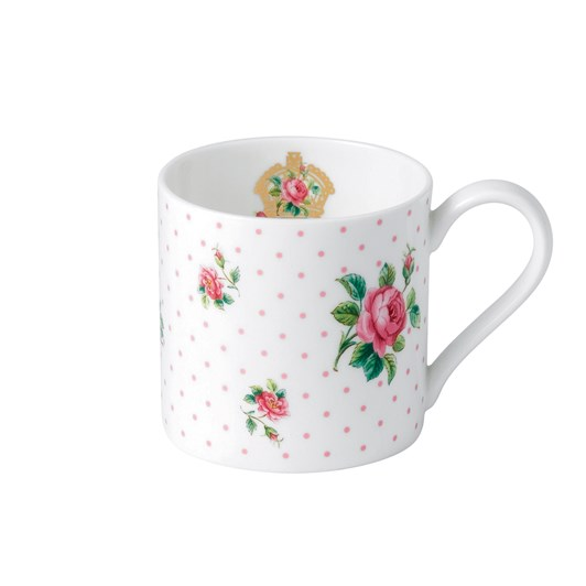 Royal Albert Cheeky Pink Pink Roses Modern Mug