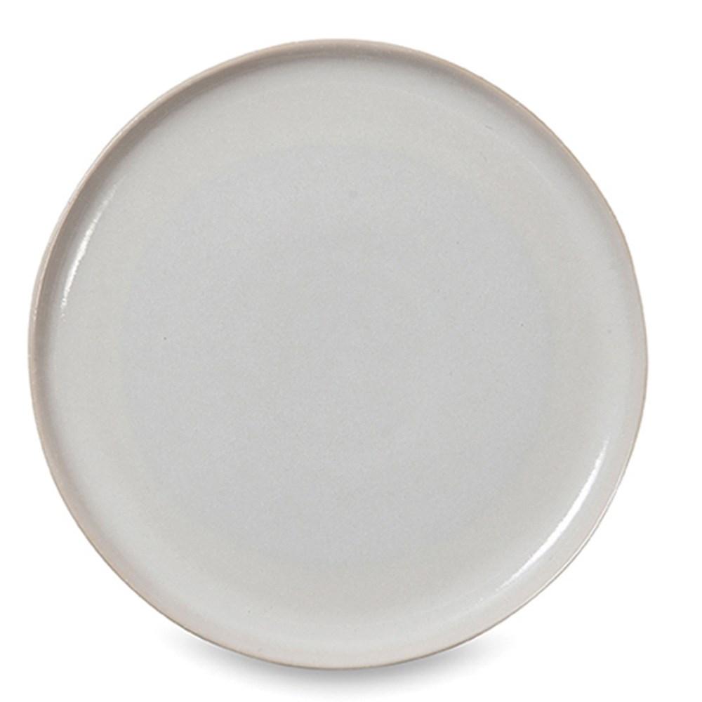 Citta Finch Dinner Plate White/Natural 28cmdia NA
