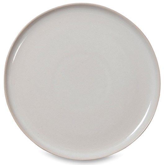 Finch Lunch Plate White/Natural  22cmdia