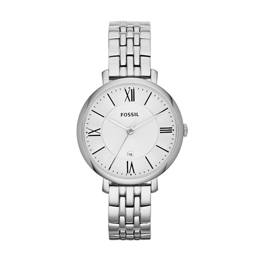 Fossil Jacqueline Silver-Tone Analogue Watch ES3433