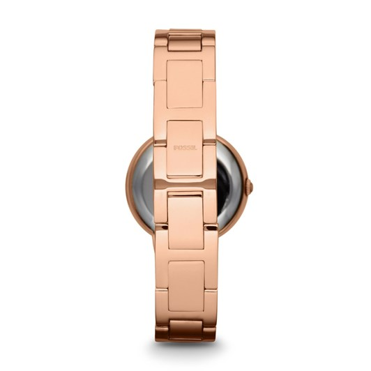 Fossil Virginia Rose Gold-Tone Analogue Watch