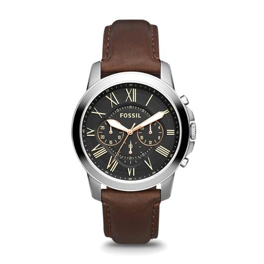 Fossil Grant Dark Brown Chronograph Watch FS4813IE