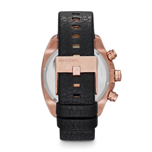 Diesel Overflow Black Chronograph Watch